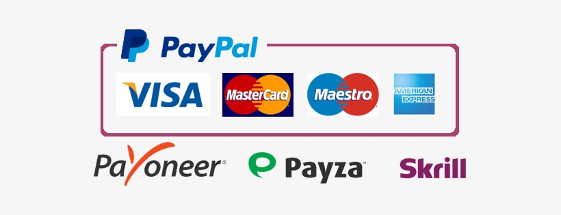 Pay Safely with Paypal